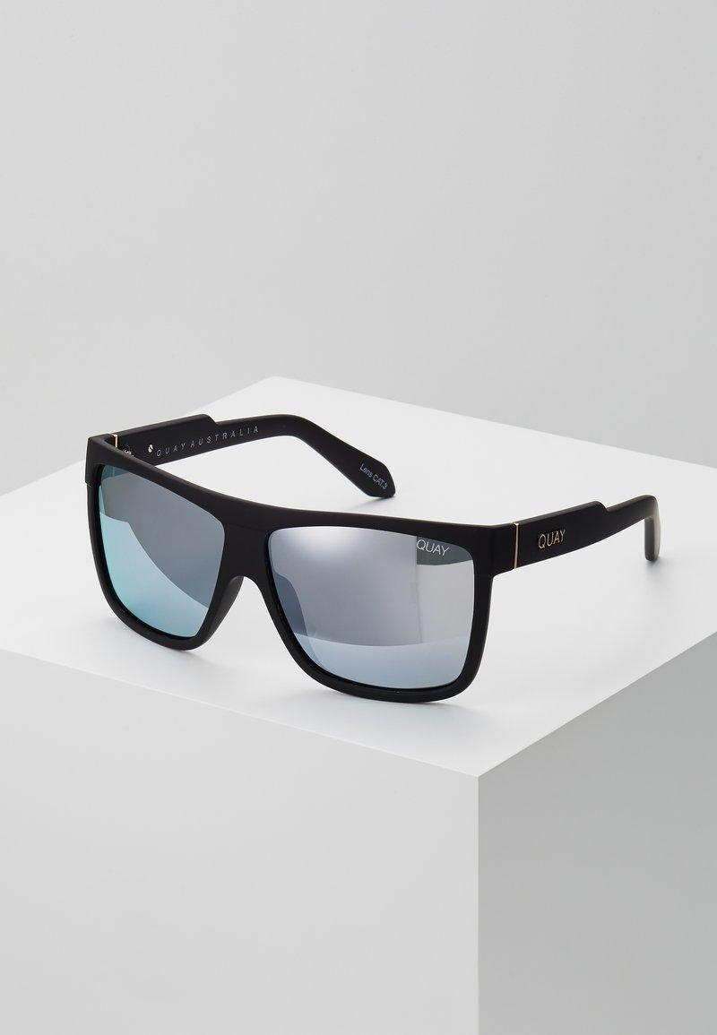 QUAY AUSTRALIA - BARNUN - Sunglasses - black/blue