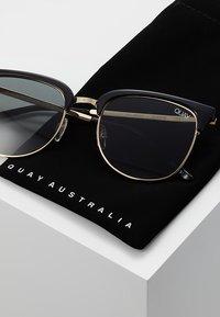 QUAY AUSTRALIA - EVASIVE - Aurinkolasit - high shine black/smoke - 2