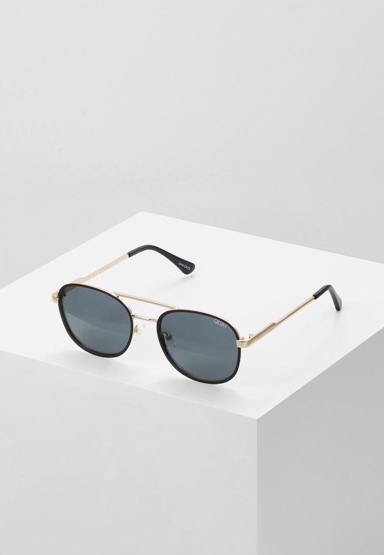 QUAY AUSTRALIA - Sluneční brýle - gold-coloured/black