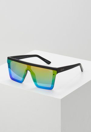HINDSIGHT - Zonnebril - matte black/rainbow