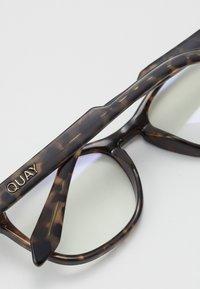 QUAY AUSTRALIA - FRONTRUNNER - Sunglasses - black to tort - 2