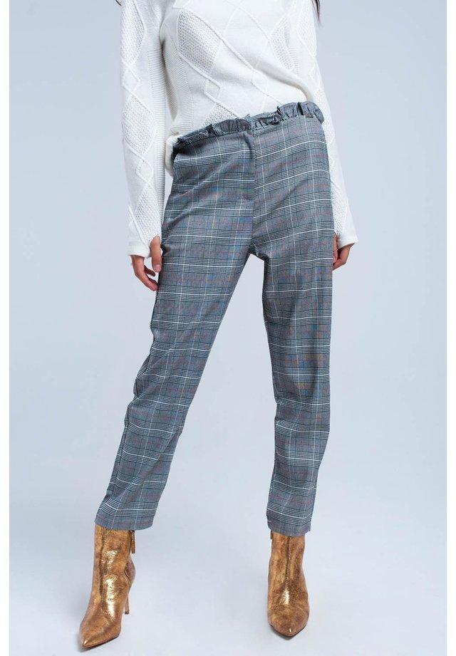 Trousers - black/white/grey