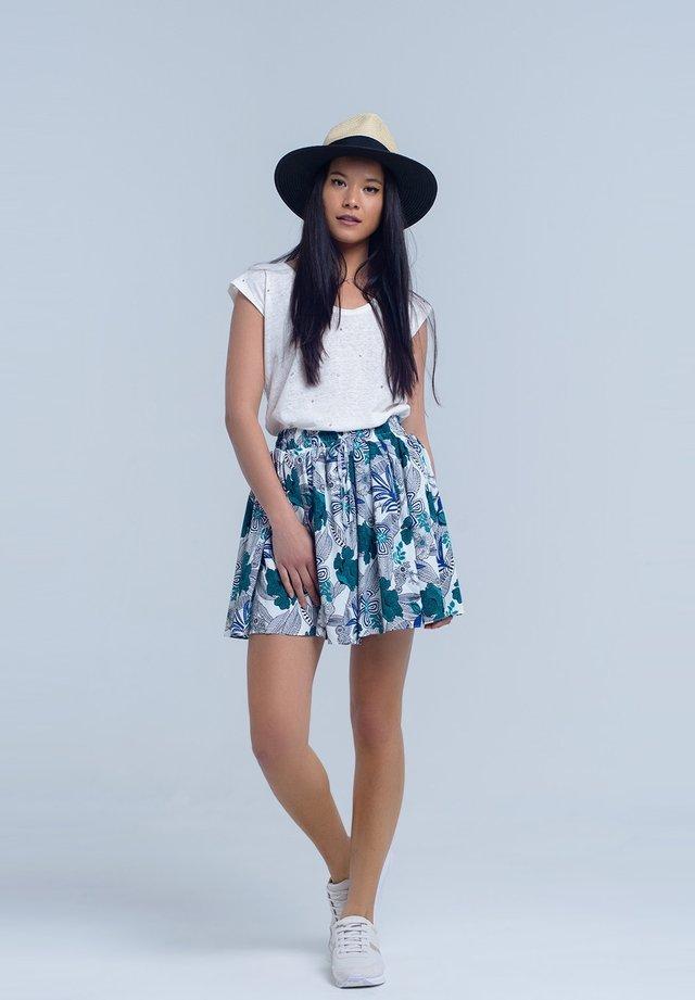 A-line skirt - blue