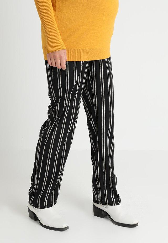PANTS WOVEN - Pantalon classique - black