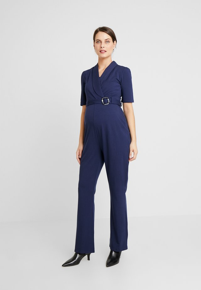 PRAQUE - Jumpsuit - black iris