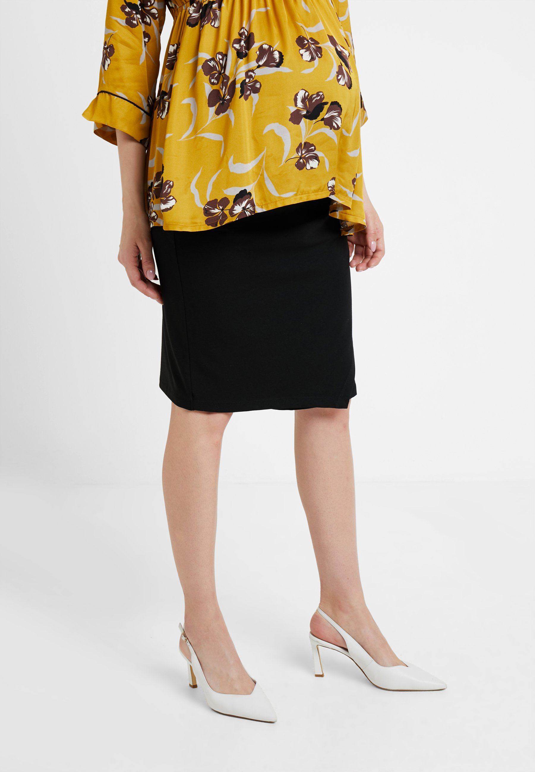 Black Mum KneeJupe Queen Skirt Crayon 8wknPO0