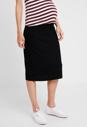 SKIRT KNEE - Pencil skirt - black