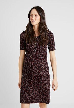 DRESS NURSING - Žerzejové šaty - black