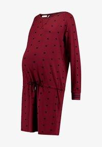 Queen Mum - DRESS - Vestito di maglina - cabernet - 4