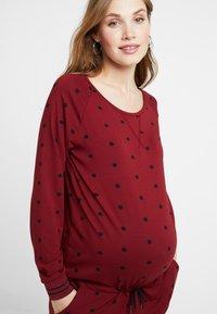 Queen Mum - DRESS - Vestito di maglina - cabernet - 3