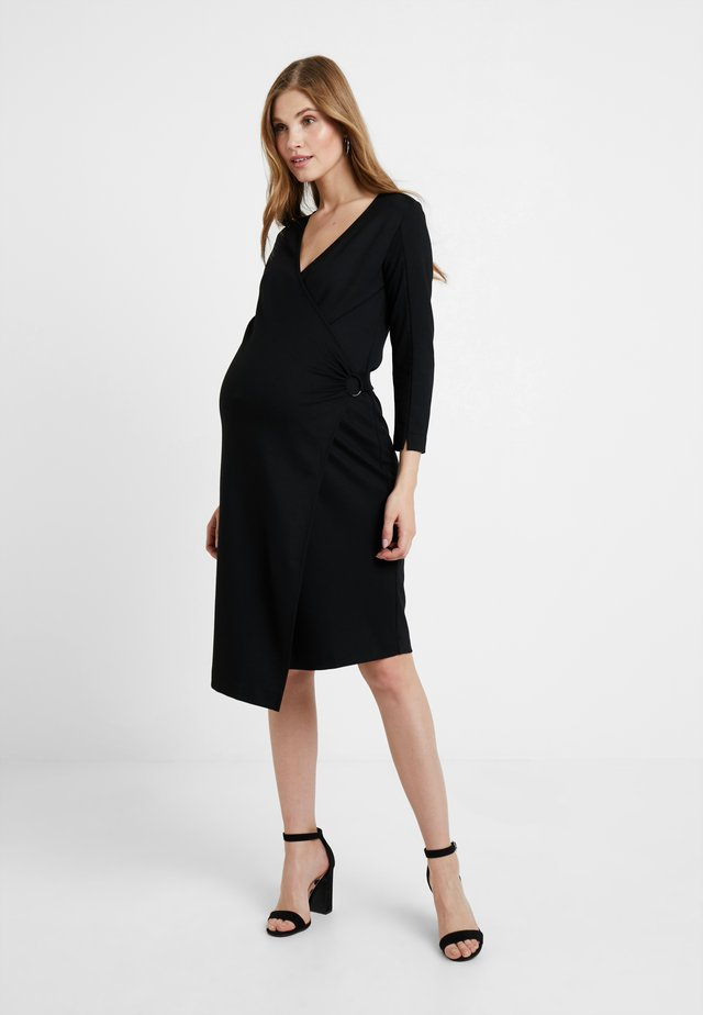 DRESS ENABLING - Jerseykleid - black