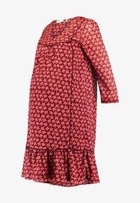 Queen Mum - DRESS 3/4 KNEE - Kjole - spiced coral - 5