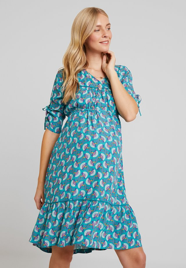 DRESS MARSEILLE - Kjole - teal blue