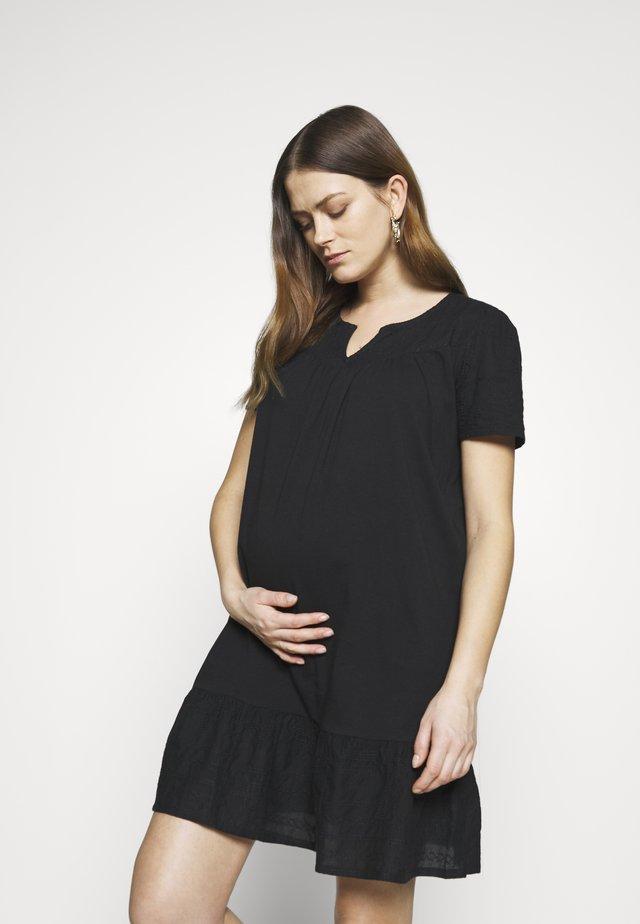 DRESS NURS NEWYORK - Žerzejové šaty - black