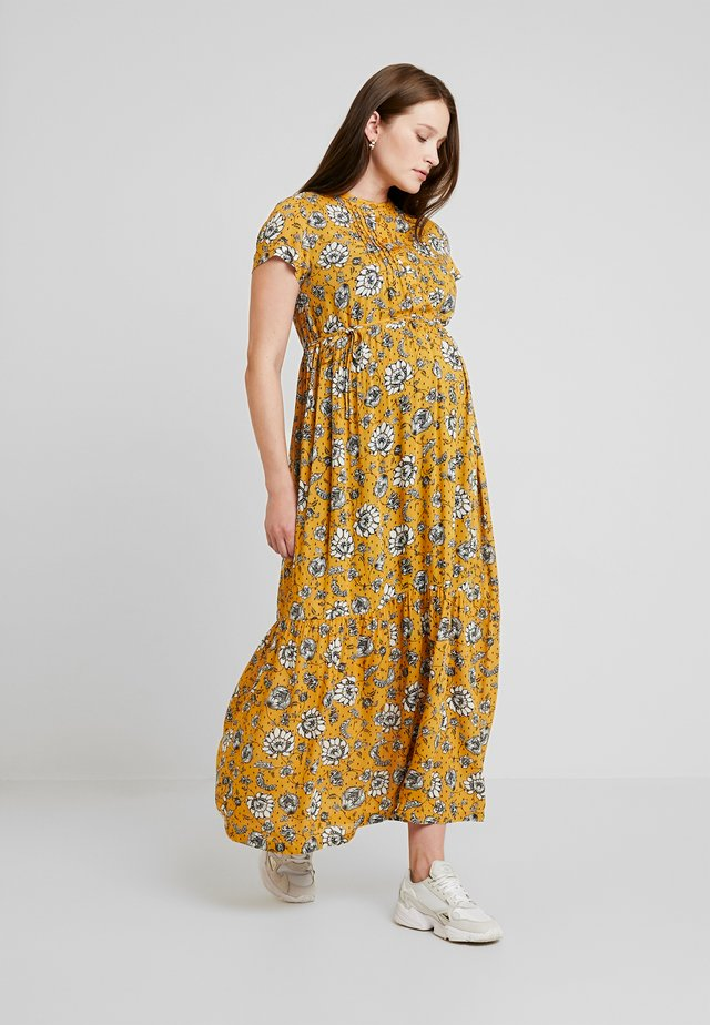 DRESS NURS DENVER - Jerseykjole - sunflower