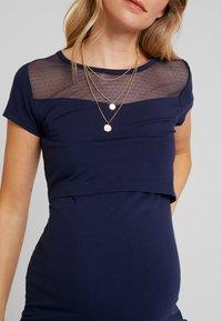 Queen Mum - DRESS OSLO - Jerseyklänning - black iris - 6