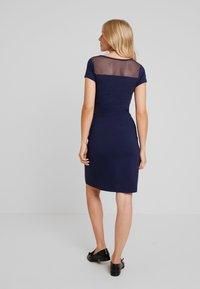 Queen Mum - DRESS OSLO - Jerseyklänning - black iris - 3