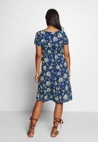 Queen Mum - DRESS WOVEN NURS BEIGING - Robe d'été - sodalite blue - 2
