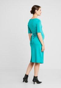 Queen Mum - DRESS MUNICH - Jerseyklänning - teal blue - 3