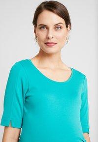 Queen Mum - DRESS MUNICH - Jerseyklänning - teal blue - 4