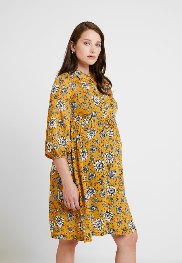 SEATLE DRESS - Skjortekjole - sunflower