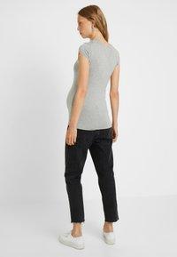 Queen Mum - TEE - T-Shirt basic - grey melange - 2
