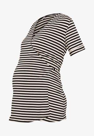 NURS MIAMI - Camiseta estampada - black