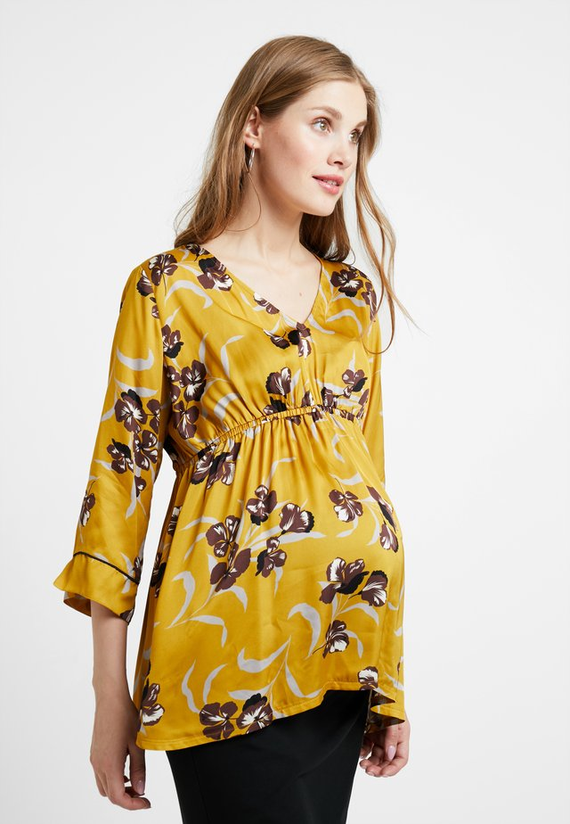 BLOUSE 3/4 - Bluse - harvest gold