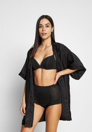 GEO LOW LEG - Lingerie sculptante - black