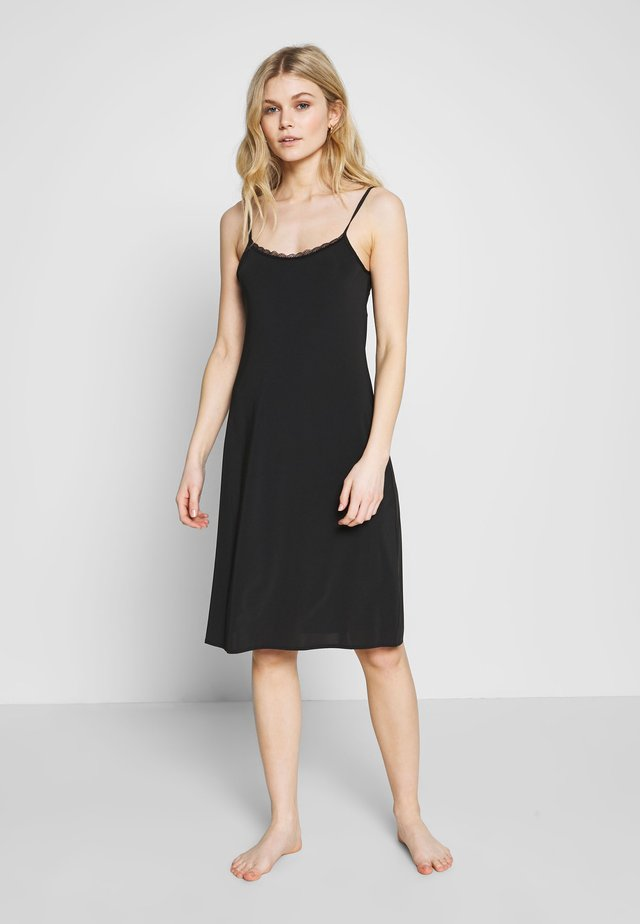 COOL SLIP - Nattskjorte - black