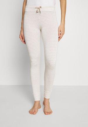 FLEXI STRIPE REGULAR - Pyjamasbukse - offwhite