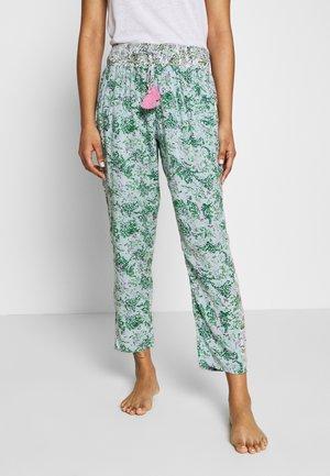 PANT REGULAR - Pyjamasbukse - mint