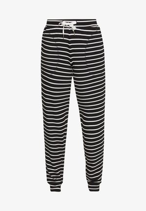 FLEXI STRIPE PANT REGULAR - Pyjamasbukse - black/white