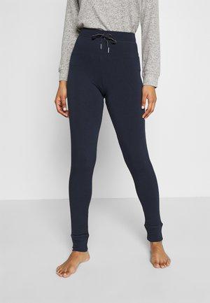 FLEXI PLAIN LEG REGULAR - Pyjamasbukse - dark blue