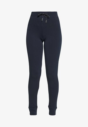 FLEXI PLAIN LEG REGULAR - Pyjamasbyxor - dark blue