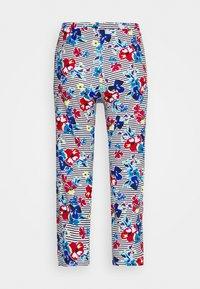 Marks & Spencer London - PANT CROP FLOR PANT - Pyjamasbukse - indigo mix - 1
