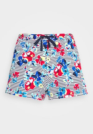 FLORAL SHORT - Pantalón de pijama - indigo mix