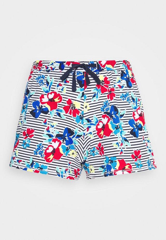 FLORAL SHORT - Spodnie od piżamy - indigo mix