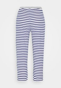 Marks & Spencer London - PANT CROP PANT - Pyjamasbukse - dark blue/white - 1