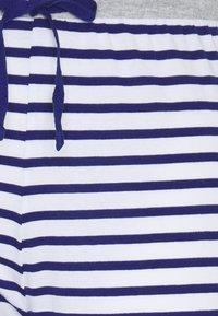 Marks & Spencer London - PANT CROP PANT - Pyjamasbukse - dark blue/white - 2