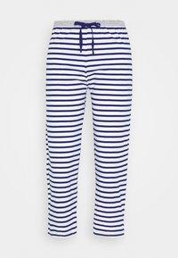 Marks & Spencer London - PANT CROP PANT - Pyjamasbukse - dark blue/white - 0