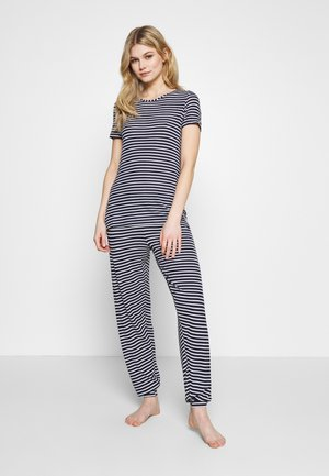 HANGING SET - Pyjamas - dark blue