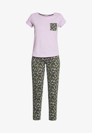 HANGING SET - Pyjamas - khaki
