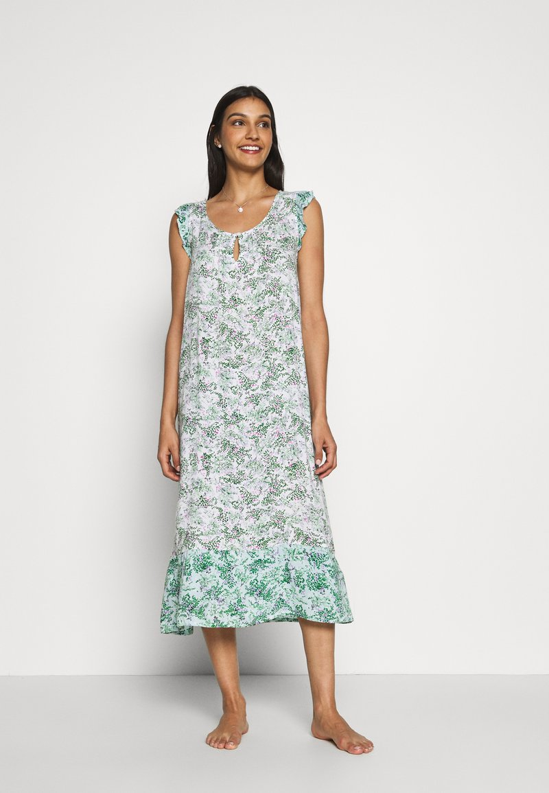 Marks & Spencer London - BUS NIGHTDRESS - Nattskjorte - mint