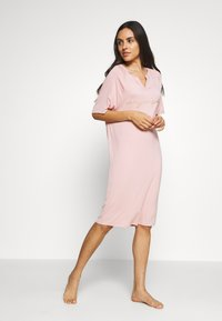 Marks & Spencer London - MINISHIRT LOUNGE - Nightie - pink - 1