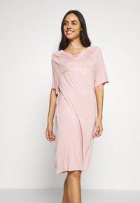 Marks & Spencer London - MINISHIRT LOUNGE - Nattskjorte - pink - 0