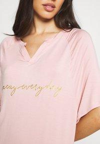 Marks & Spencer London - MINISHIRT LOUNGE - Nattskjorte - pink - 4