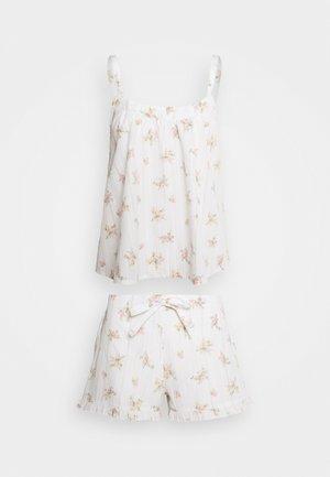 HANGING DITSY SET - Pyjama set - white