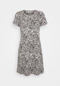 Marks & Spencer London - MINISHIRT ZEBRA - Noční košile - oatmeal - 0