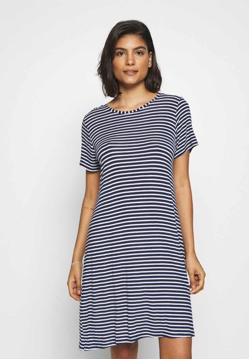 Marks & Spencer London - MINISHIRT STRIPE - Nightie - navy mix